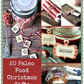 20 Paleo Food Christmas Gifts