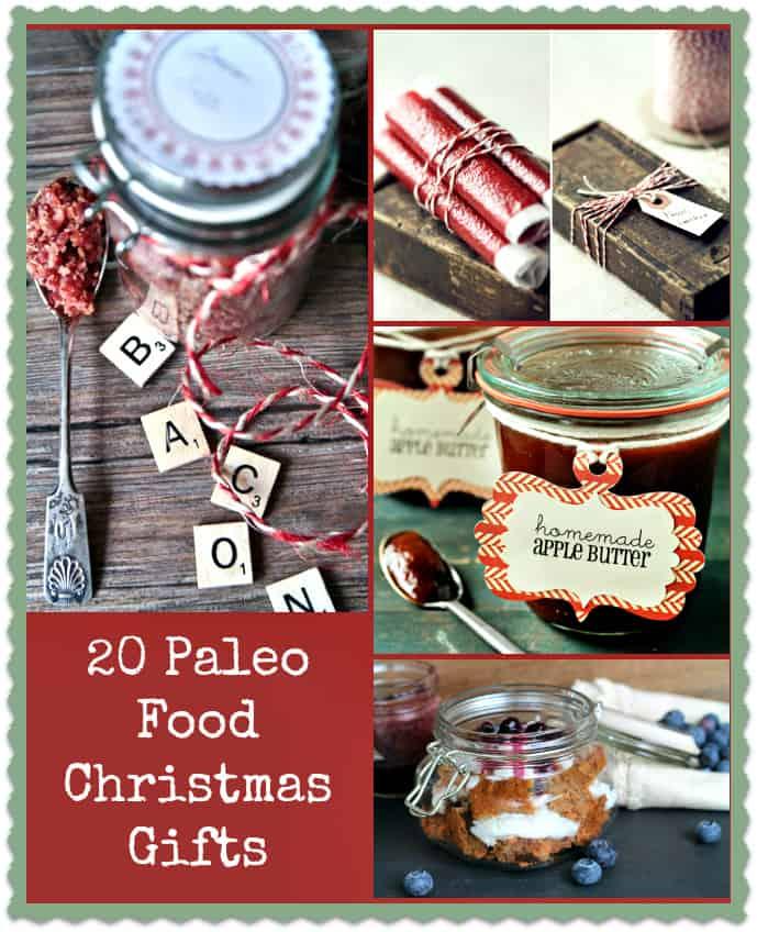 20 Homemade Paleo Christmas Gifts