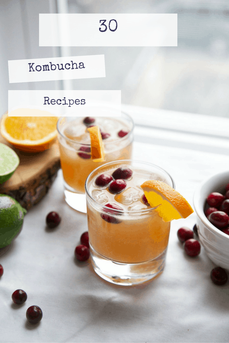 30 Kombucha Recipes