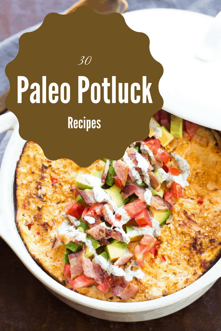30 Paleo Potluck Recipes