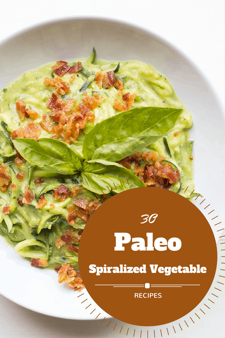 30 Paleo Spiralized Vegetable Recipes