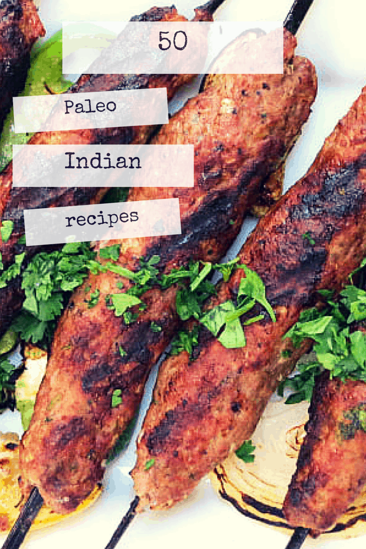 50 Paleo Indian recipes