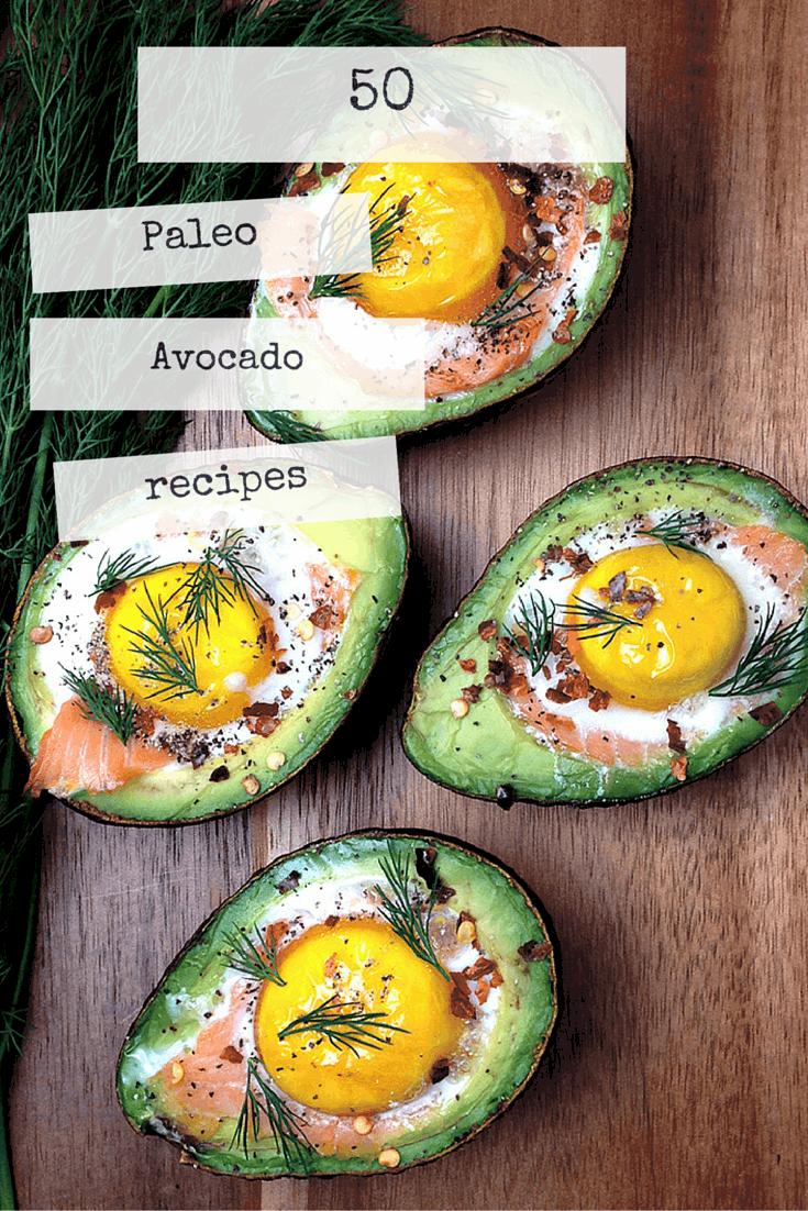 50 Paleo Avocado recipes