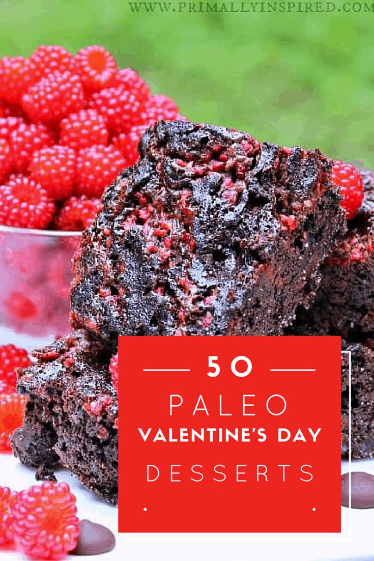 50 paleo valentine 39 s day desserts a girl worth saving for Valentine s day desserts for a crowd