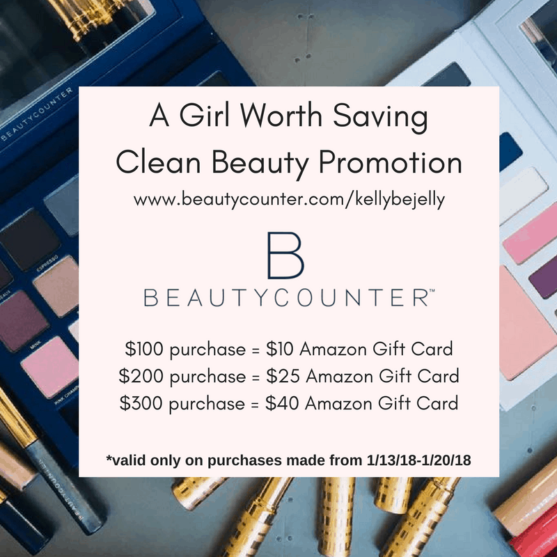 Beautycounter Gift for A Girl Worth Saving readers