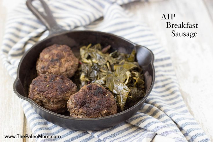 Beef Breakfast Sausage (AIP-friendly) ~ The Paleo Mom