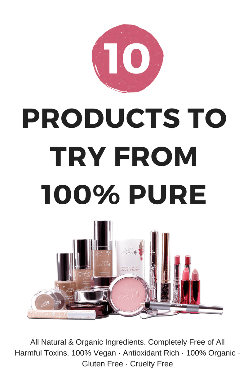 10 Products to Try From 100% Pure