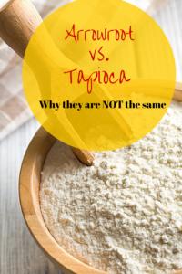 Arrowroot vs taopica
