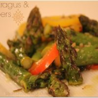 Very Simple Asparagus & Peppers