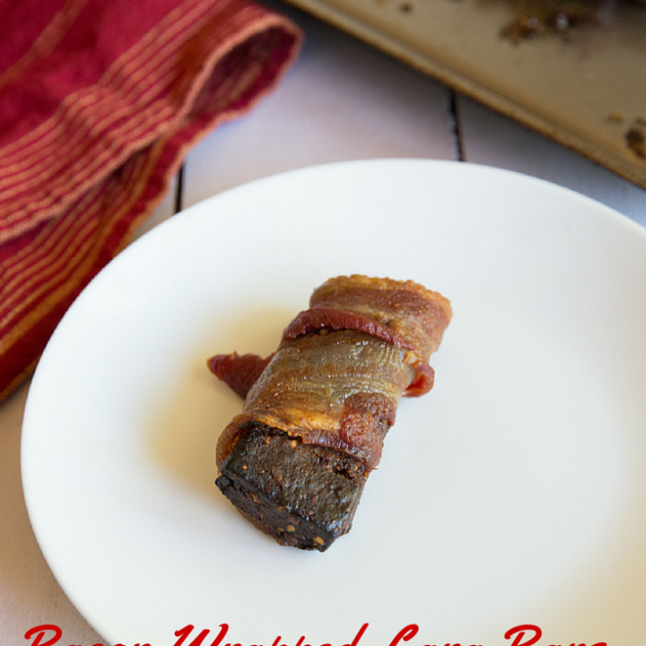 Bacon-Wrapped Lara Bars