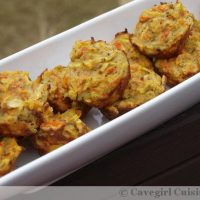 Baked Squash and Carrot Fritters