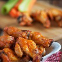Crispy Baked Buffalo Wings (VIDEO)