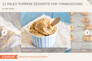 Paleo Pumpkin Dessert Recipes for Thanksgiving
