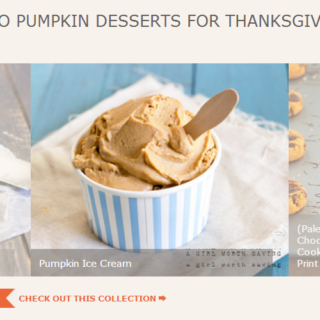 Paleo Pumpkin Dessert Recipes for Thanksgiving