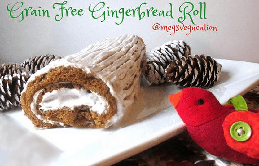 Paleo Gingerbread Roll