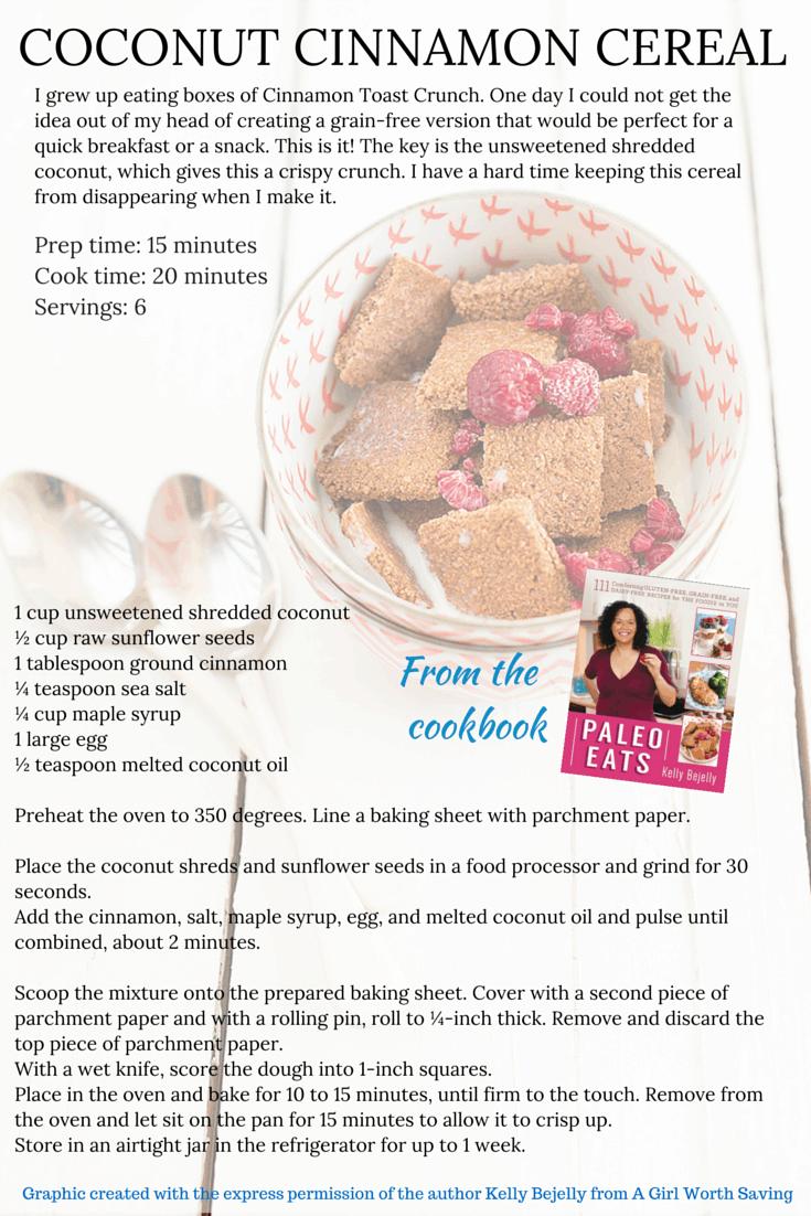 Coconut Cinnamon Cereal