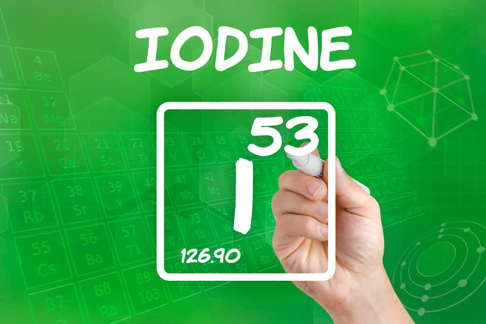 healthy iodine