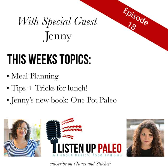 listen up paleo podcast meal planning