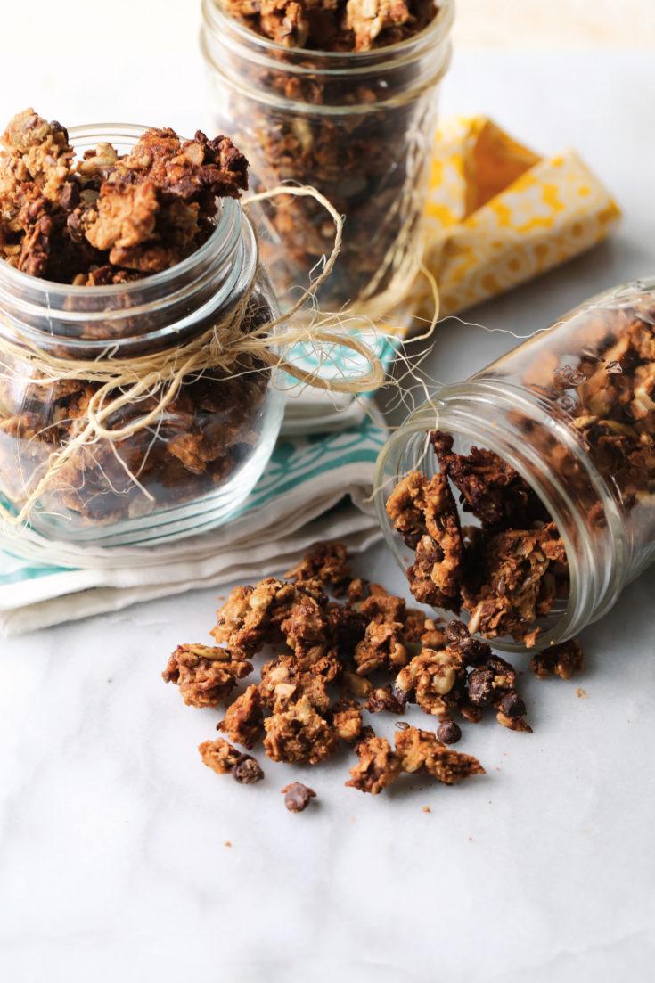 Grain + Nut Free Granola fromThe Paleo Kids Cookbook