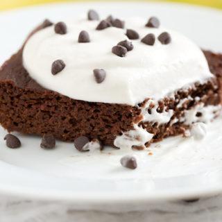 Fudgy Chocolate Banana Cake