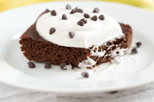 Fudgy Chocolate Banana Cake - GI 365 5
