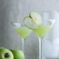 Green Apple Ginger Martini Recipe