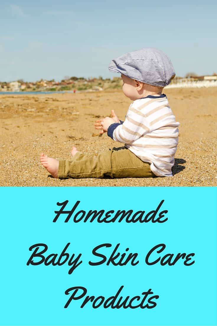 homemade baby skin care products
