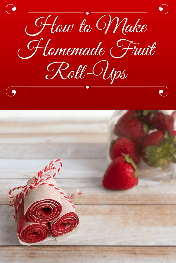 How to Make Homemade Fruit Roll-Ups