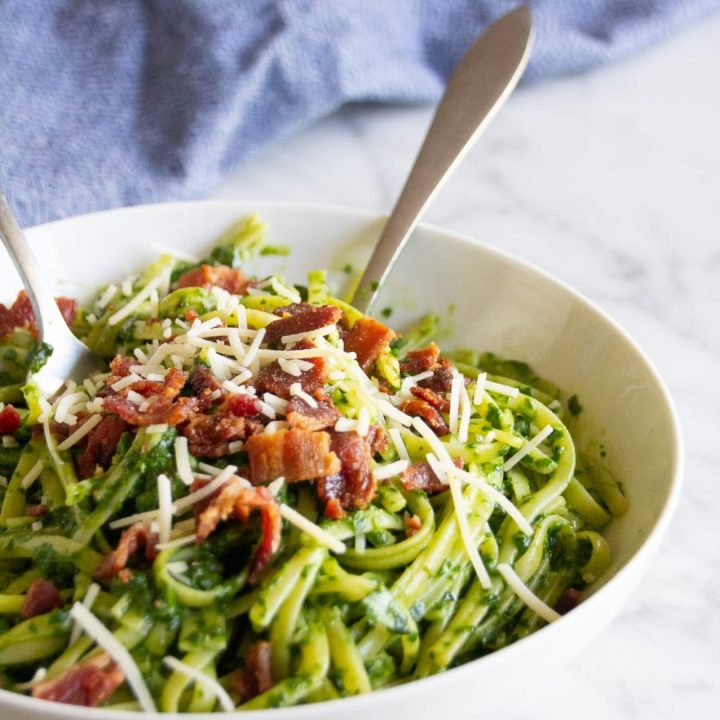 Spinach Matchinga Pesto
