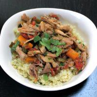 Paleo Chipotle Chicken Burrito Bowl