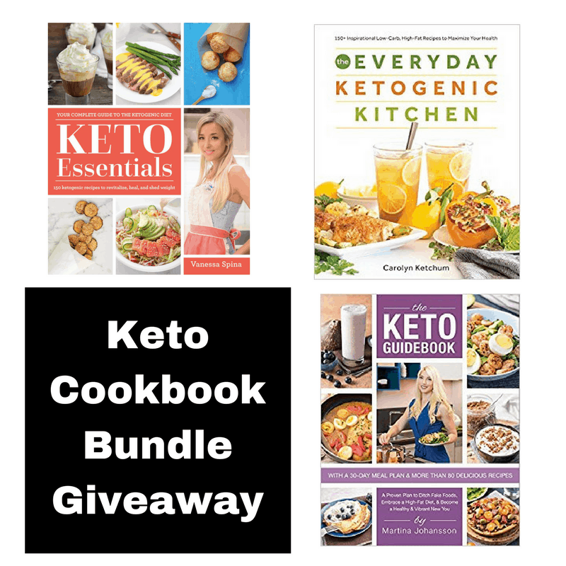 Keto Book Bundle Giveaway ($76 Value)