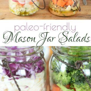 Mason Jar Salads (Paleo)