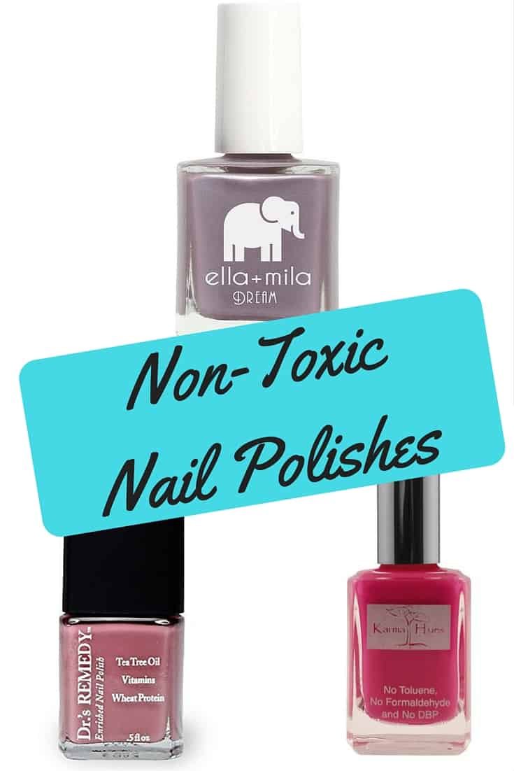 Non-Toxic Nail Polishes