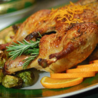 Roasted Duck with Cherry Sauce ----- The Primal Desire