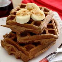 Paleo Sweet Potato Waffles Recipe