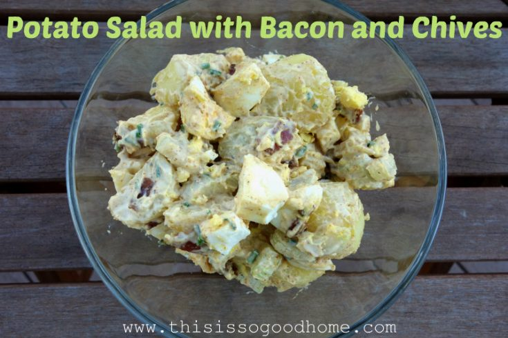 Potato Salad with Bacon and Chives