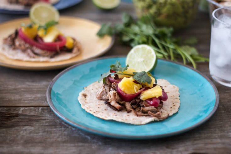 Pulled Pork Street Tacos (gluten-free, paleo)