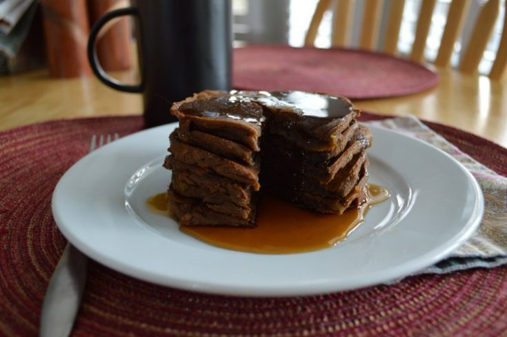 Oven Baked Pumpkin Spice Pancakes from 85 Amazing AIP Breakfasts   Gutsy By Nature