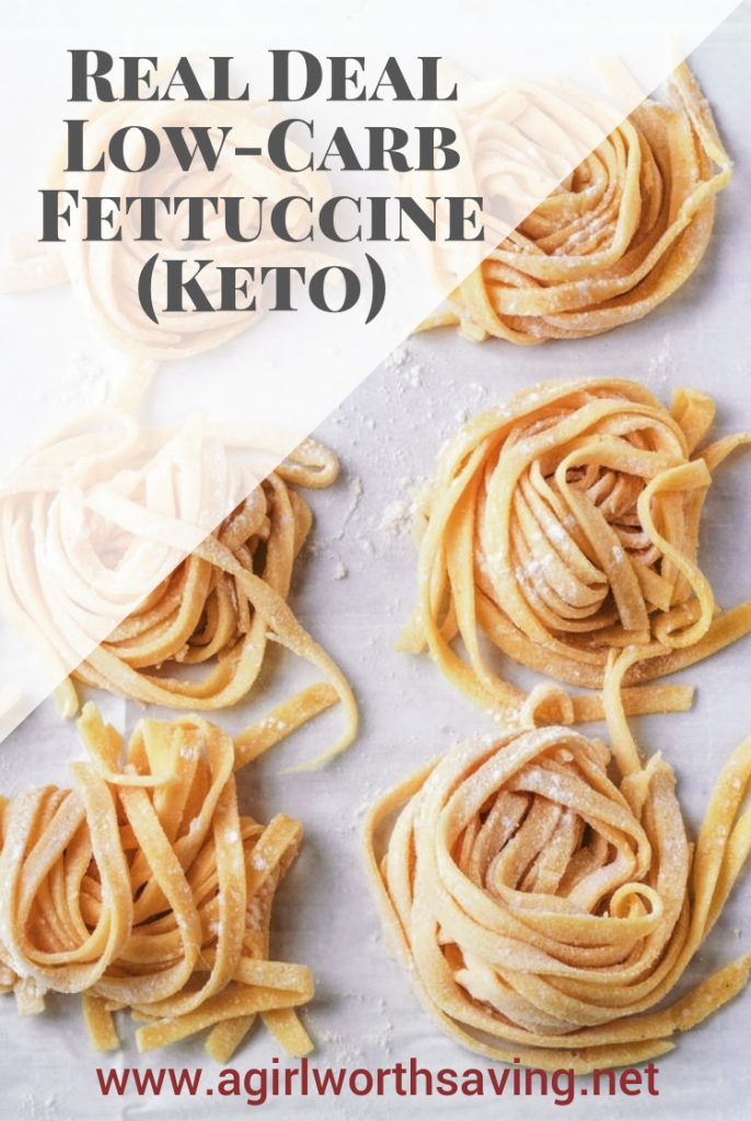 This low carb and keto fettuccine noodle recipe is a dream. It tastes just like the real deal and you will never miss pasta again!