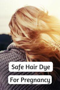 safe hair dye for pregnancy