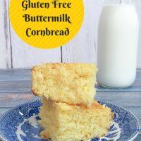 Gluten Free Buttermilk Cornbread Recip