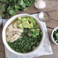AIP / Spring Breakfast Chicken Soup - Slow Cooker Paleo Recipe
