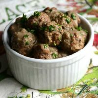 Swedish Meatballs - AIP Instant Pot Cookbook