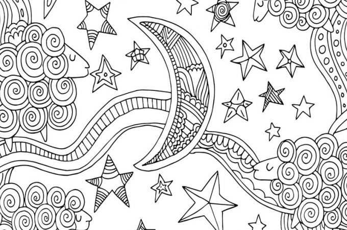 The Sleep Miracle Coloring Page jpg