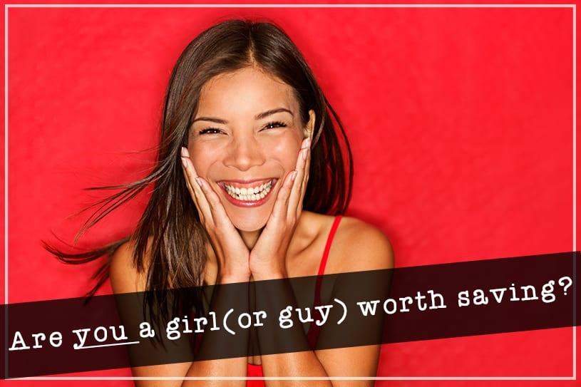 a girl worth saving