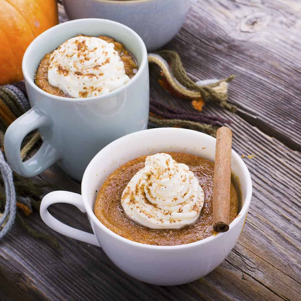 If you love pumpkin as much as I do, you'll love this aip mug cake recipe. It takes 5 minutes to make and the result is a moist, pumpkin-y muffin! No oven required for this recipe, and it makes a delicious single-serving aip pumpkin mug cake that is the perfect allergy-free treat when the weather gets crisp.