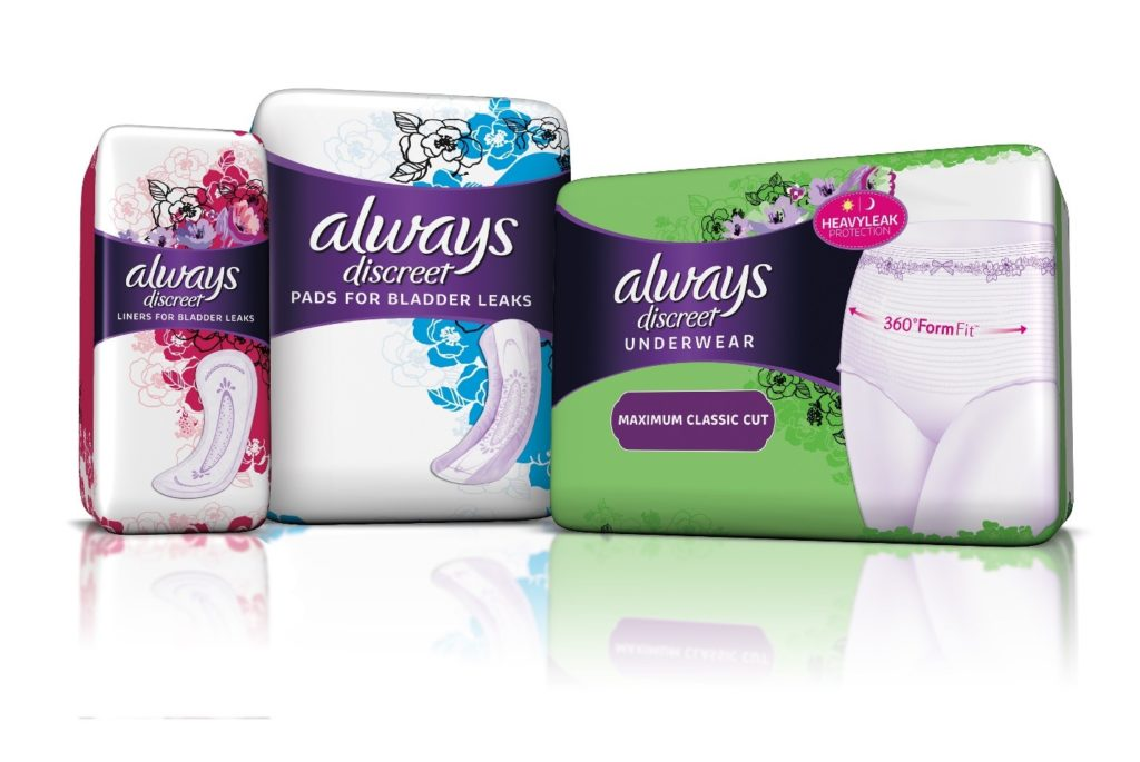 I've partnered with Always Discreet to create this post! Enjoy!