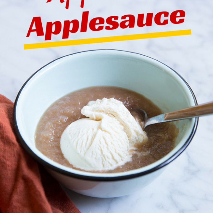Slow Cooker Apple Pie Applesauce