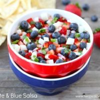 Blueberry Strawberry Salsa Recipe