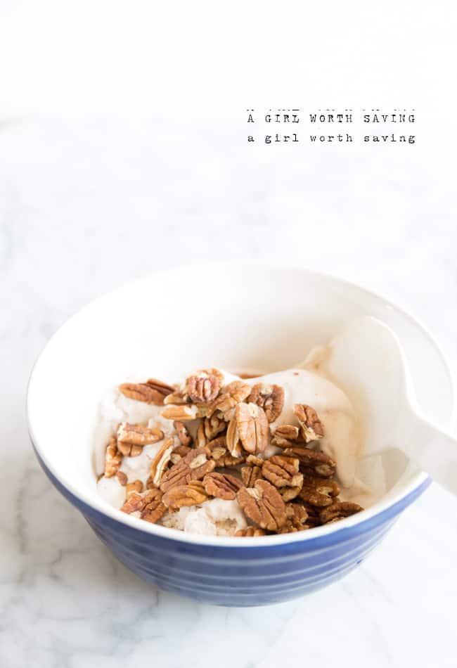 Paleo Butter Pecan Ice cream recipes